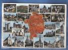 Carte Postale  Géographique 18.  Département Du Cher  Trés Beau Plan - Non Classés