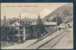 Vallorbe, Le Buffet De La Gare, Animée, L.B. 5474 - VD Vaud