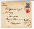 RUSSIE - 1917 - ENVELOPPE ENTIER De HOCHTCHA (UKRAINE)