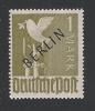 GERMANIA BERLINO - 1948 - Valore Della Zona A.I.S. Da 1 M. Nuovo S.t.l. Soprastampato BERLIN - In Ottime Condizioni. - Neufs