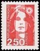 France N° 2715 ** Briat. Marianne Du Bicentenaire -  2f50 Rouge - Nuovi