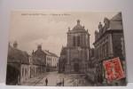TRACY LE  MONT  -   L´ EGLISE ET LA MAIRIE - Frankreich