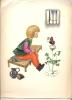 Chromo Illustr. (Josette Boland ) - Jongen Met Vlinder - Découpis
