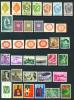 LIECHTENSTEIN  -  Selection Of Stamps As Scan - Liechtenstein