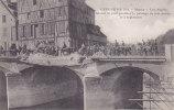 MEAUX LES ANGLAIS MINANT LE PONT PENDANT LE PASSAGE DE LEUR ARMEE LE 3 SEPTEMBRE 1914 Editeur IB - Meaux