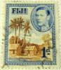 Fiji 1938 Native Village 1d - Used - Fiji (...-1970)