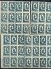 LIECHTENSTEIN 1920 - BOGENTEILE - KOMPLETER SATZ - YVERT # 40-42 - KAT. €242 - Liechtenstein