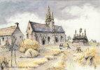 SAINT JEAN TROLIMON    ( 29 ) Calvaire Et Chapelle De Tronoën ( Port Gratuit ) - Saint-Jean-Trolimon