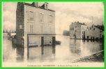 BAS-MEUDON-Innondation 1910-Le Bureau De Tabac-(recto Verso) - Meudon
