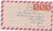DENMARK - VF 1967 COVER From SKAGEN To NEW YORK - Briefe U. Dokumente
