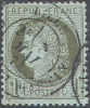 # France   50, Used,VF, Sound  (fr050-3,  Michel 45. 16- BD - 1871-1875 Ceres
