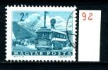 Francobollo Singolo - UNGHERIA - MAGYAR - BUS - Viaggiato - Traveled - Bus