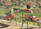 Merano Passeggiata Tappeiner Meran Tappeinterweg Gegen Penegal 1963 - Bolzano (Bozen)