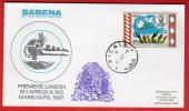 Rwanda - Premier Vol Kigali-Jeddah (02/04/1987) Sabena (Airbus A310) - Rwanda