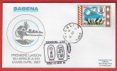 Rwanda - Premier Vol Kigali-Le Caire (30/03/1987) Sabena (Airbus A310) - Autres