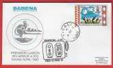 Rwanda - Premier Vol Kigali-Le Caire (30/03/1987) Sabena (Airbus A310) - Rwanda