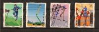 CHINE,construction Lignes électriques,Y-t 2037 à 2040**  MNH - Neufs