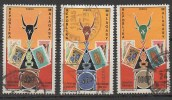 MADAGASCAR  N°504/506__OBL VOIR  SCAN - Madagascar (1960-...)