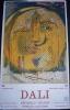 affiche DALI exposition de 68 originaux � bruxelles en 1965