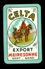Speelkaart ( 248 ) Bieren Bier Bières Bière Brasserie Brouwerij -  CELTA  Meiresonne  Gand  Gent  Viking - Barajas De Naipe