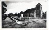 """MYENNES   """"l'église Et Le Petit Jardin"""" - France"""