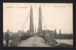 71 CPA - Le Pont Suspendu De CHAUVORT - VERDUN Sur Le DOUBS - ALLEREY - 1905 - France