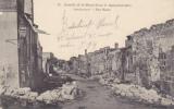 CPA VASSINCOURT MEUSE Bataille De La Marne Septembre 1914 Rue Basse Détruite Guerre - Altri Comuni