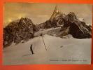 Courmayeur Valle D' Aosta Ghiacciaio Presenza Di Piega Ad Angolo E Franc. In Parte Strappato - Otras Ciudades