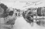 85Z05-4- FONTENAY-LE-COMTE - Pont Des Sardines - Convoyeur Ligne Chateau-du-Loir à Chartres 1903 - Fontenay Le Comte