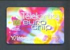 SLOVENIA  -  Chip Phonecard As Scan - Slovénie