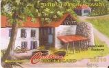 218 CVVB TARJETA DE BRITISH VIRGIN ISLANDS DE LA FACTORIA DE AZUCAR - Vierges (îles)