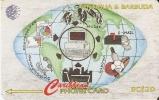 232 CATA TARJETA DE ANTIGUA & BARBUDA DE VISION DE INTERNET - Antigua And Barbuda
