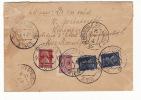 Russia USSR Registered Cover Leningrad To Strasbourg 1926; Old Petrograd R-label (g130) - Storia Postale