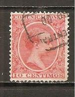 España/Spain-(usado) - Edifil  218 - Yvert  201 (o) - 1889-1931 Reino: Alfonso XIII