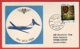 Liban - First DC-9 Flight Beyrouth-Prague - 02/04/1972 - Liban