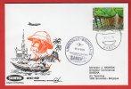 Gabon - Première Liaison Aérienne SABENA - Libreville-Bruxelles - 12/05/1975   DC-10 - Gabon (1960-...)