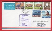 Zambie (Zambia) First Flight Boeing 707 - Lusaka-Frankfurt 01/07/1976 - Zambia (1965-...)