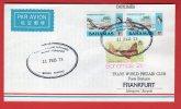Bahamas - First Flight Lufthansa Nassau-Frankfurt 11/02/1975 - Bahamas (1973-...)