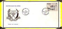 Aviation > Hélicoptère  -  1978  FDC  -  Zaïre - Zaïre