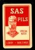 Speelkaart  ( 315 )  Bier - Bière - Bieren - Bières - Brasserie - Brouwerij   :  SAS PILS - Leroy - Boezinge - Barajas De Naipe