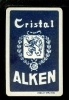 Speelkaart  ( 320 )  Bier - Bière - Bieren - Bières - Brasserie - Brouwerij   :  ALKEN - Cristal - Barajas De Naipe