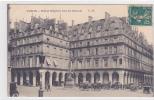 19187 Paris Hotel Régina Rue Rivoli . CM ! Attention Décollée ! - Non Classés