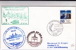 1985 - EXPEDITION ANTARCTIQUE ALLEMANDE POLAIRE  - GEORG VON NEUMAYER STATION - ENVELOPPE - Antarctic Expeditions