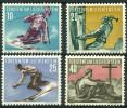 Liechtenstein (1955) N 296 à 299 ** (Luxe) - Liechtenstein