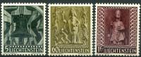 Liechtenstein (1959) N 350 à 352 * (charniere) - Liechtenstein