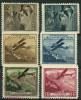 Liechtenstein PA (1930) N 1 à 6 (*) Sans Gomme - Poste Aérienne