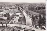 CPSM THAON LES VOSGES Le Pont De Girmont  En Avion Au Dessus De Lapie - Thaon Les Vosges