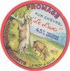 F 185 / ETIQUETTE  DE  FROMAGE  PUR CHEVRE LE LUX   FAB. EN CHARENTE (16) - Cheese