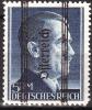 """AUSTRIA ÖSTERREICH  1945 696II 5 RM  AUFDRUCK MAGER FETTES """"CH""""  MNH / ** / POSTFRISCH - 1945-60 Ungebraucht"""
