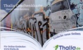 Germany - Allemagne - Thalia Book Store - Berlin Wall - Carte Cadeau - Carta Regalo - Gift Card - Geschenkkarte - Frankreich
